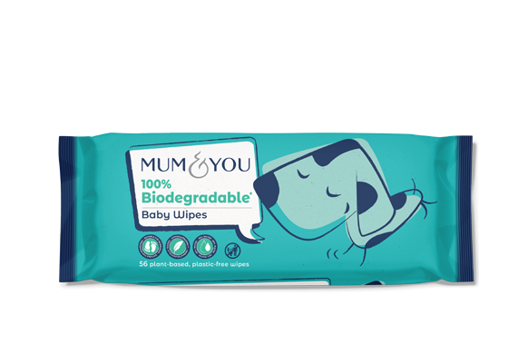 100% Biodegradable Baby Wipes