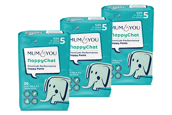 Nappychat nappy pants (3 pack)