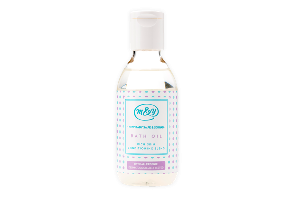 Baby Bath Oil