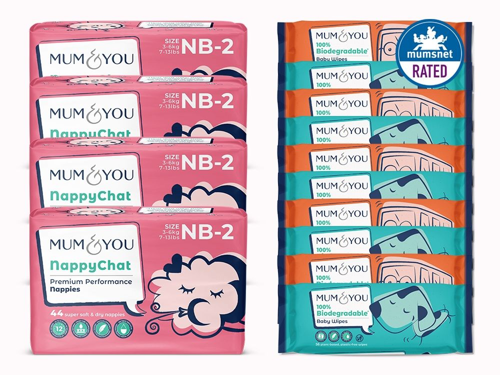 Eco-nappies and Wipes Subscription