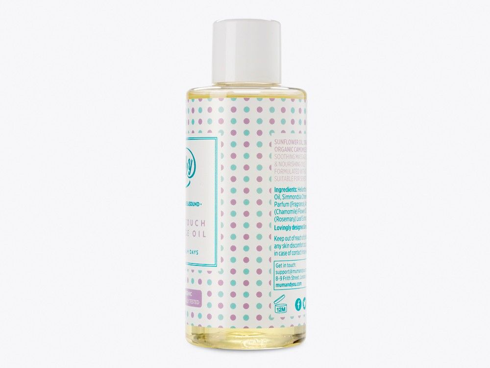 Mums Touch Massage Oil Dual Pack
