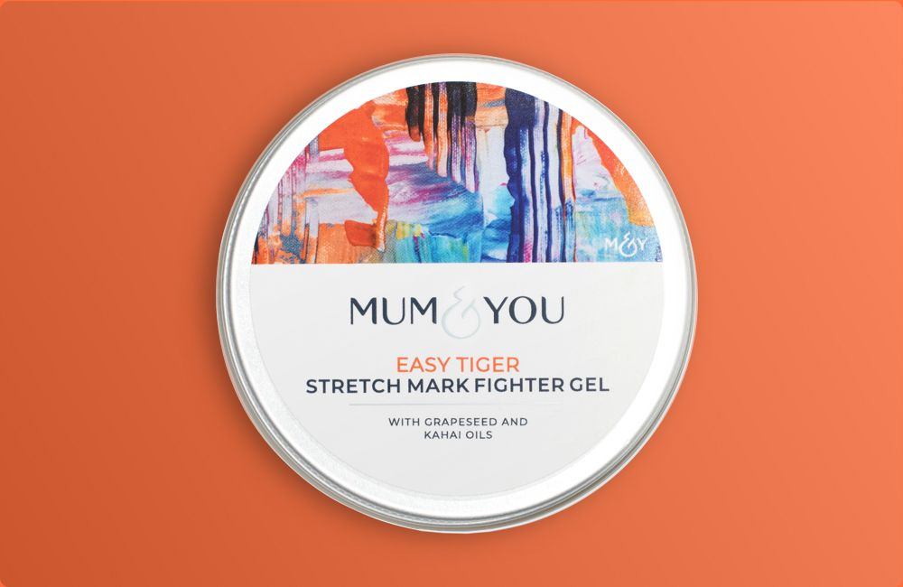 Fight stretch marks massage evenly into tummy, bum, breasts and thighs