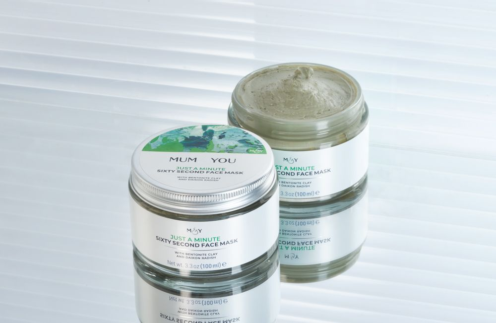 Cay-based antioxidant face mask