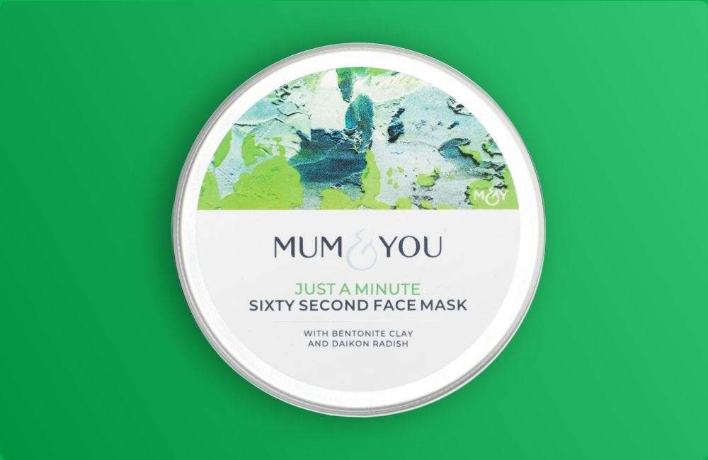 Clay-based antioxidant face mask that works in a flash Safe during & post pregnancy