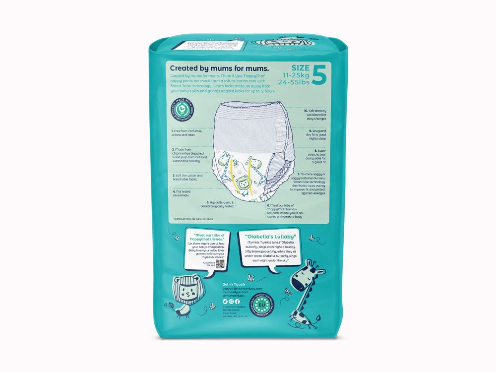Nappychat Eco Diaper Pants
